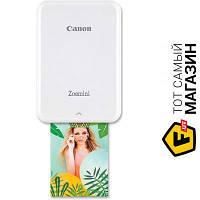 Принтер портативный Zoemini PV123 White (3204C006) 5 x 7.5 см - термосублимационная цветная печать