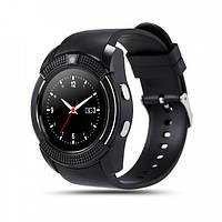 Смарт - часы SMART WATCH V8 black, MicroSIM Bluetooth microSD | AG510016