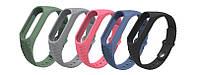 Ремешок рифленый для Xiaomi Mi Band 2 wristband Aurora anti-off pink | AG510021