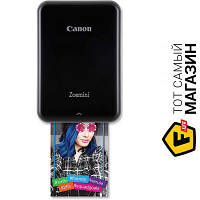 Принтер портативный Zoemini PV123 Black (3204C005) 5 x 7.5 см - термосублимационная цветная печать