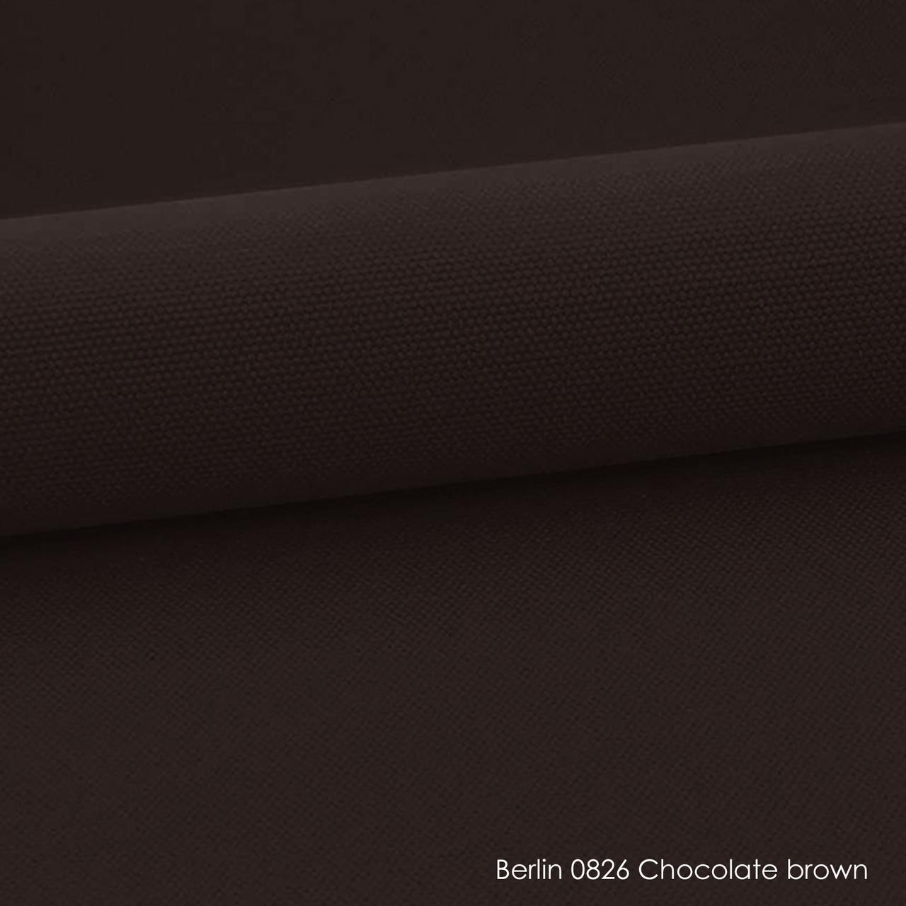 Ролеты тканевые Berlin 0826 chocolate brown