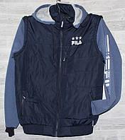 """Куртка-жилетка мужская демисезонная FILS, размеры 48-56 """"JIREN"""" купить недорого от прямого поставщика"""