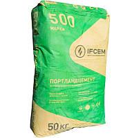 Цемент ПЦ ІІ/А-В-500 Р-H тарированный 50кг. (Ивано-Франковск)