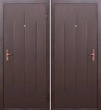 Входная дверь GARDA Стройгост 5-1 Металл/Металл Медный Антик