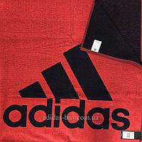 Полотенце adidas performance Large DQ1814 цвет: красный/черный