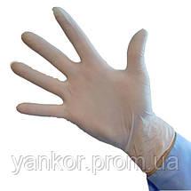 Рукавички латексні Медіком SafeTouch® E-Series Latex (100шт/уп), фото 3