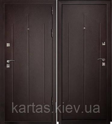 Входная дверь GARDA Стройгост 7-2 Металл/ Металл минвата