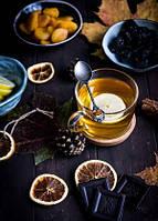 """Фото открытка """"Чай и шоколад"""""""