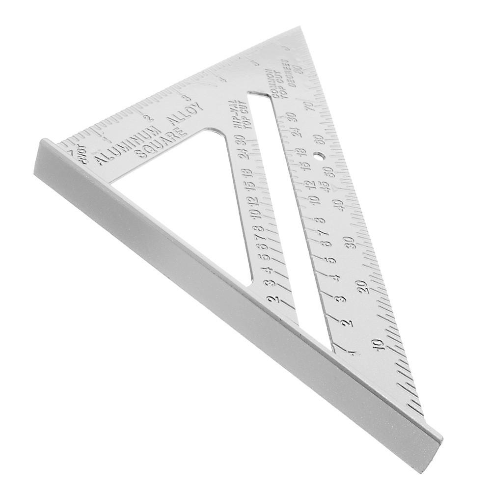 Комбинированный треугольник транспортир из алюминиевого сплава 7 дюймой (178мм)