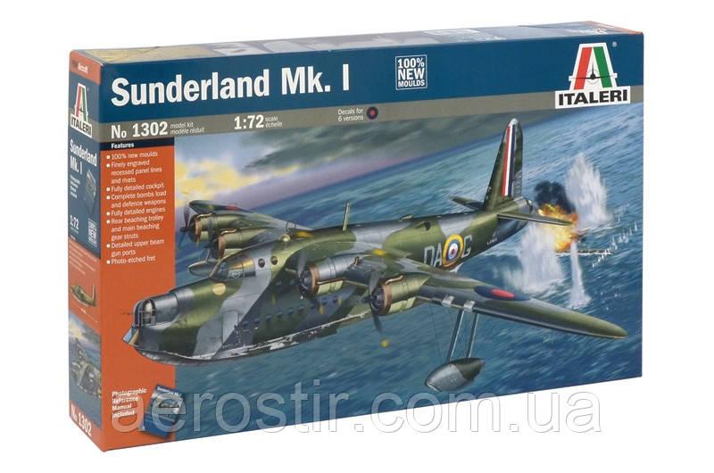 Sunderland I 1/72 Italeri 1302
