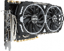 "Видеокарта MSI GeForce GTX 1080 TI ARMOR 11G OC GDDR5X ""Over-Stock"" Б/У, фото 2"