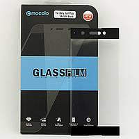 Защитное стекло Mocolo для Sony Xperia XA1 Plus / G3412 / G3416 / G3421 / G3423  полноэкранное черное