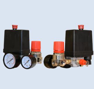 Автоматика 220V в сборе контрольно-распределительный блок компрессора-прессостата в сборе тип 2