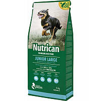 Сухой корм Nutrican Junior Large 15кг