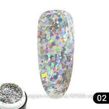 Glitter gel 02