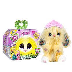 Little Live Питомец сюрприз Няшка Потеряшка Цветущие кролики Scruff-a-Luvs plush mystery rescue pet Purple