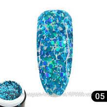 Glitter gel 05