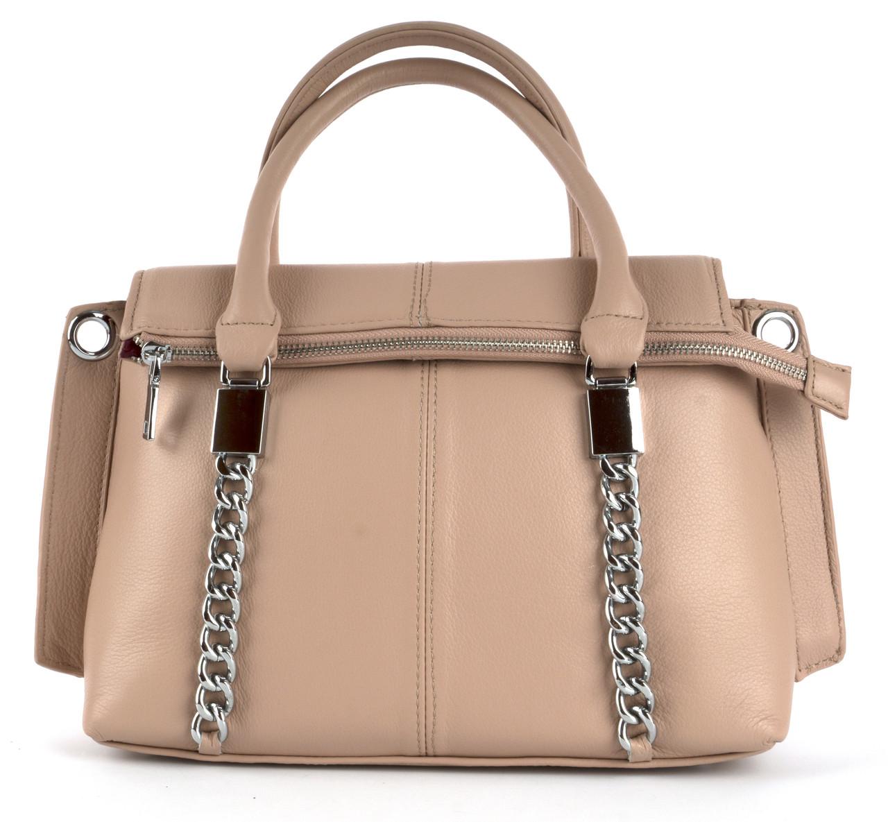 Стильная женская вместительная кожаная сумка PRINCESSA art. 3329
