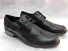 Стильные мужские кожаные туфли(броги) Rondo