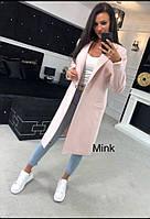 Длинное модное женское пальто 2019