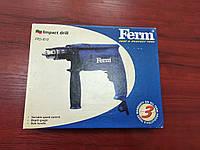 Дрель ударная Ferm FPD-810 ( 810 Вт,Ключовый патрон )