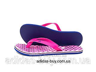 Вьетнамки тапки adidas EEZAY оригинал женские CG3552 цвет:коралловый, розовый