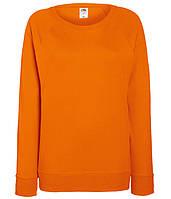 Женский свитшот XS, 44 Оранжевый