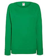 Женский свитшот S, 47 Ярко-Зеленый