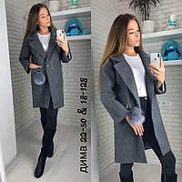 Хит сезона. пальто длинное женское зимнее 42-46