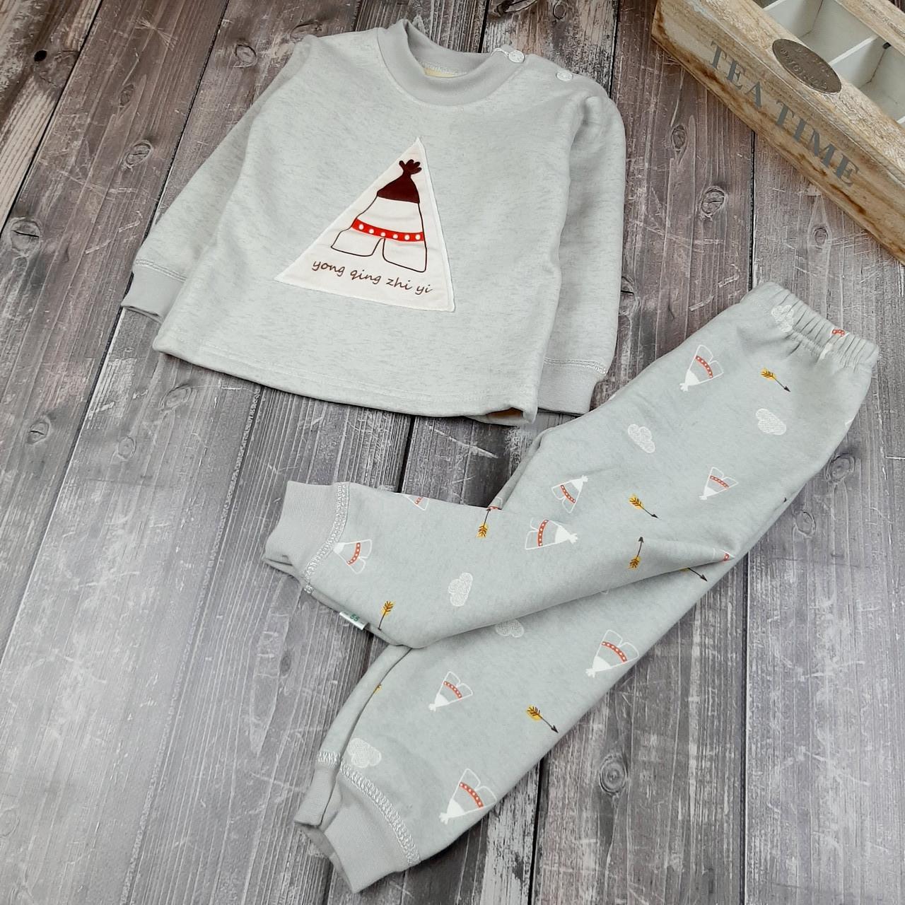 Детская пижама теплая Вигвам 90,   120