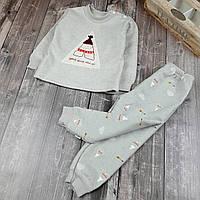 Детская пижама теплая Вигвам 90,   120, фото 1
