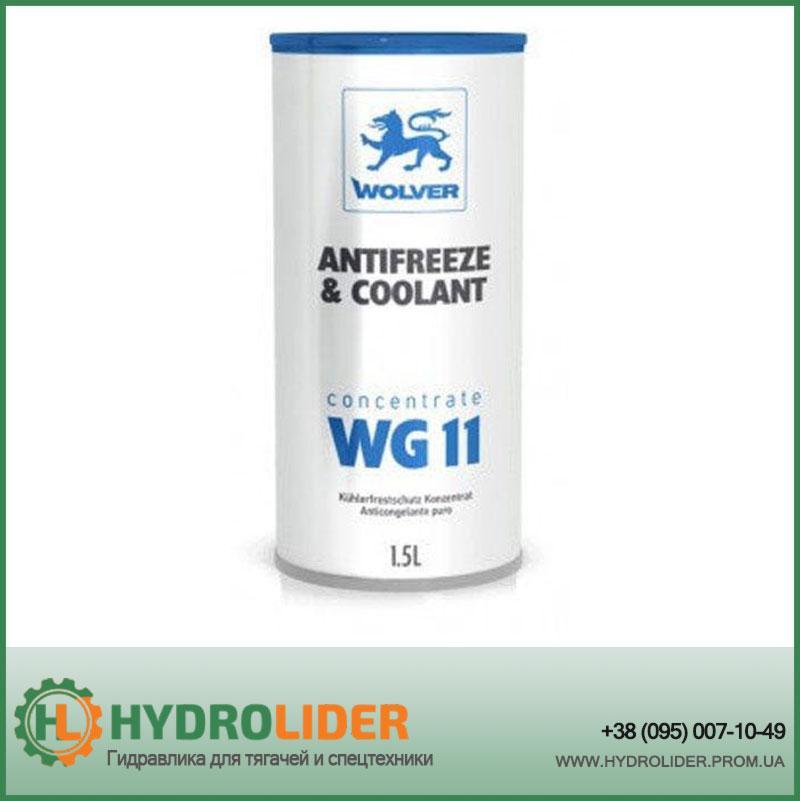 Охолоджуюча жидкостьWolver Antifreeze & Coolant WG11