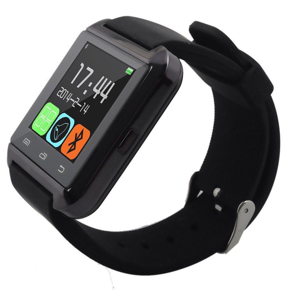 Смарт-часы Smart Watch U8 Bluetooth, камера, плеер, шагомер, соцсети Black