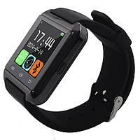 Смарт-часы Smart Watch U8 Bluetooth, камера, плеер, шагомер, соцсети Black, фото 1
