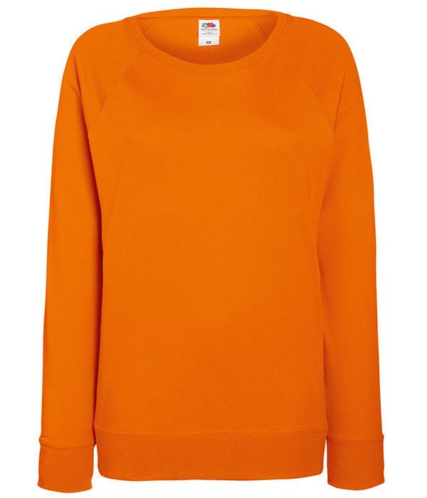 Женский свитшот L, 44 Оранжевый