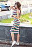Женское платье зигзаг, фото 2