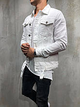Куртка мужская Black белая 2YPREMIUM {S}