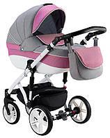 Детская универсальная коляска 2 в 1 Adamex Prince TIP 90L-B