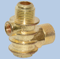 Обратный клапан Miol, Forte, большой. Наружная резьба 1/2, 18,7мм.Внутренняя 1/8.