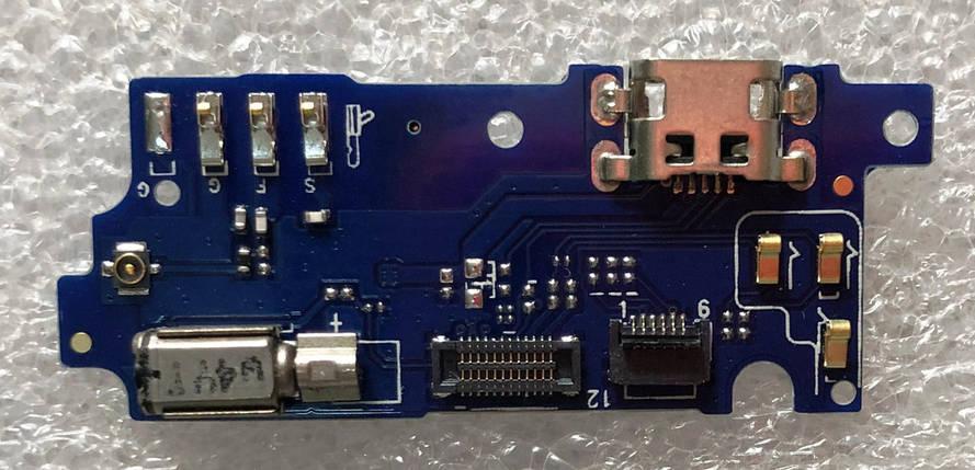 Нижняя плата MEIZU M3 / M3 mini с коннектором зарядки, фото 2
