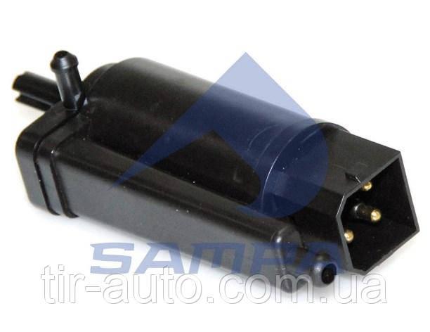 Насос омывателя VOLVO FH 12, FH 16, FM 10, FM 12 ( 3 контакта ) ( SAMPA ) 032.482