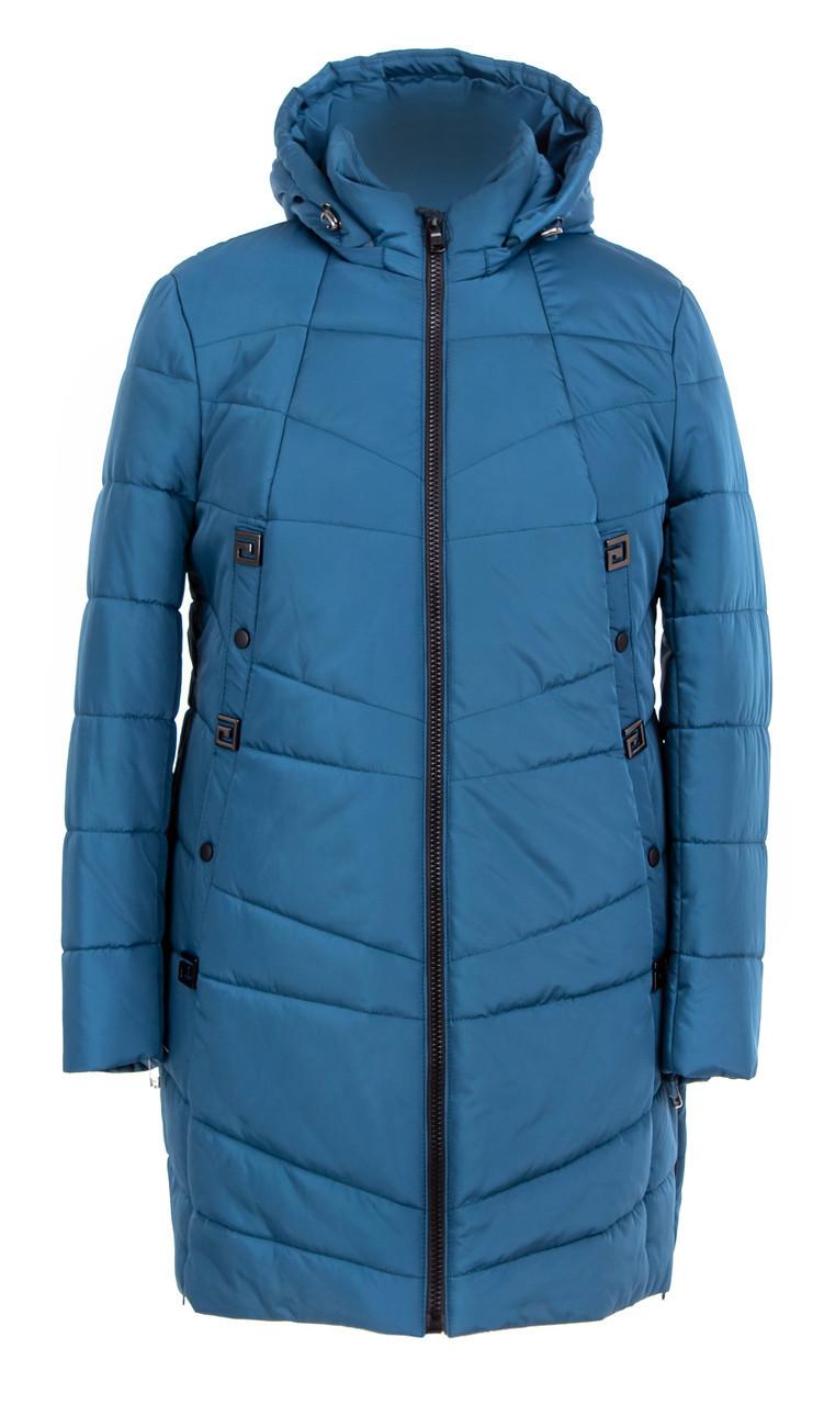Куртка осенняя женская  большие размеры   52-62 джинс