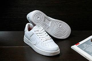 Женские кроссовкиNike Air Force женская обувь кроссовки белые найк, фото 3
