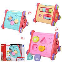 Детская музыкальная и развивающая игрушка сортер