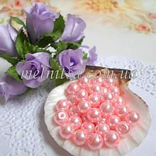 Перли керамічний, 6 мм, світло рожевий (20 шт)