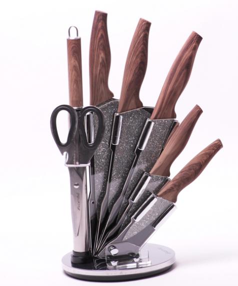 Практичный и функциональный набор кухонных ножей Kamille KM-5136 8 предметов