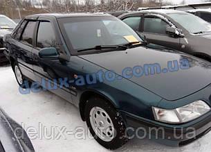 Ветровики Cobra Tuning на авто Daewoo Espero Sd 1994-2000 Дефлекторы окон Кобра для Деу Есперо седан 1994-2000