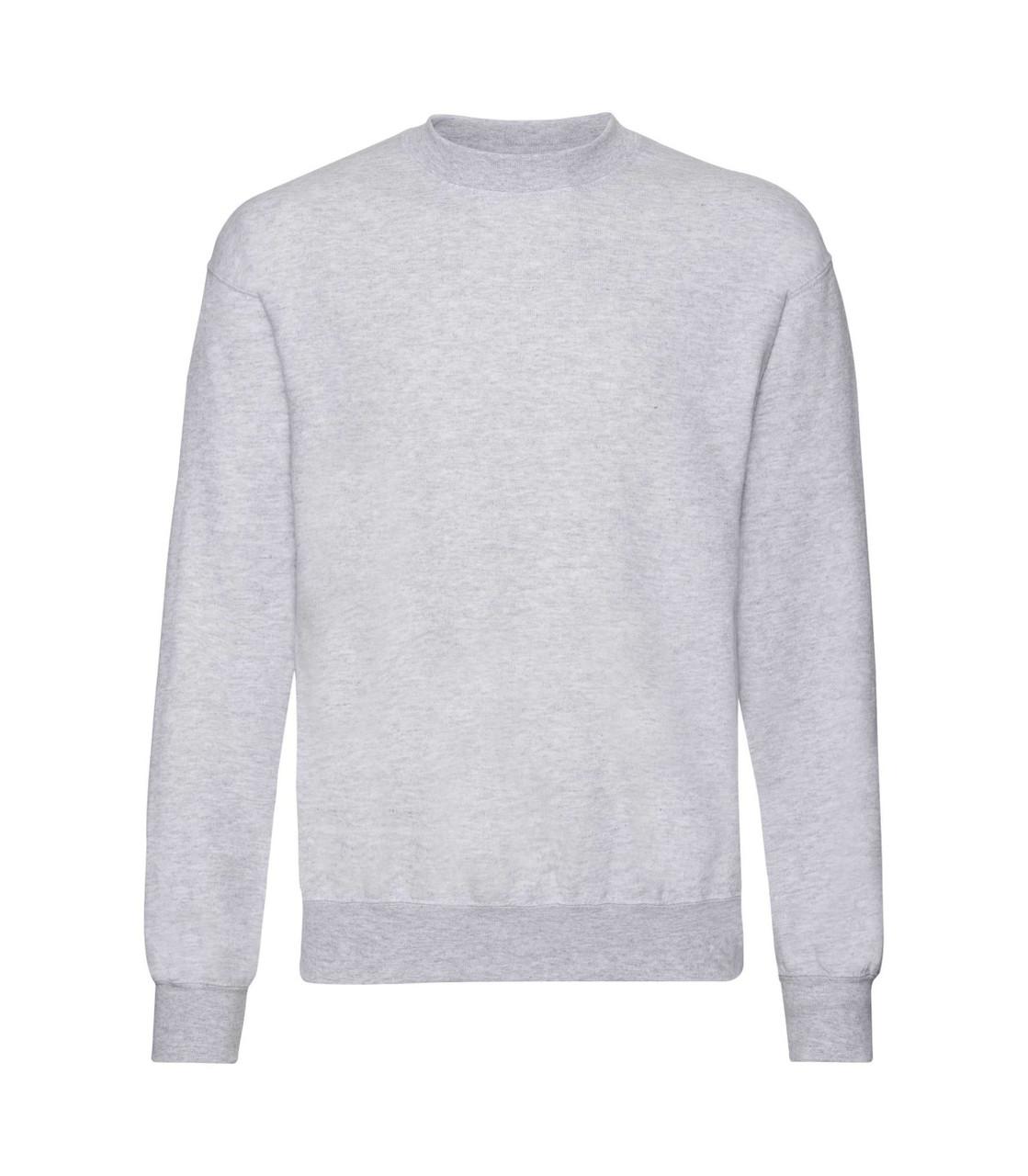 Чоловічий светр-реглан світло-сірий 202-94