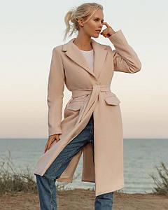 Женское демисезонное кашемировое пальто S, M