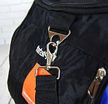 Большая дорожная, спортивная сумка Nike. Сумка в дорогу , для поездок, фото 5